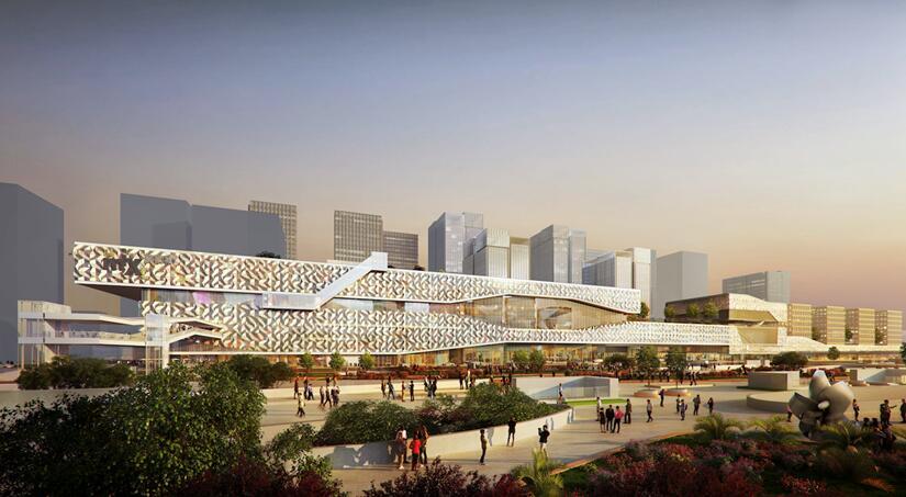 郑州新东站车站_比如交通,东广场项目位于郑州东站枢纽核心区,东临郑州东站,北邻新建